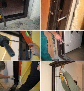 Реставрация металлических дверей Киев